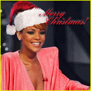 Rihanna Sings Christmas Song -- Preview Now!