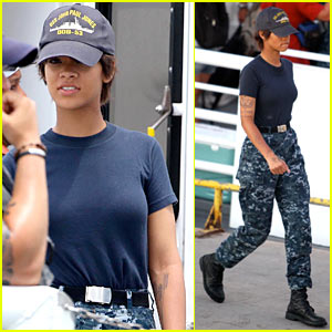 Rihanna: Only Girl in the Battleship World