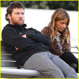 Sam Worthington & Natalie Mark: Bonding at Bondi