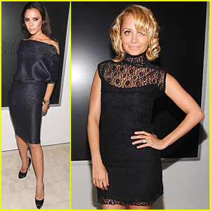 Victoria Beckham: Fashion's Night Out with Nicole Richie!