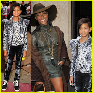 Willow Smith: Ferragamo Fashion Fun with Mom!