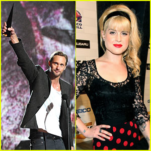 Alexander Skarsgard: Scream Awards' Best Horror Actor!