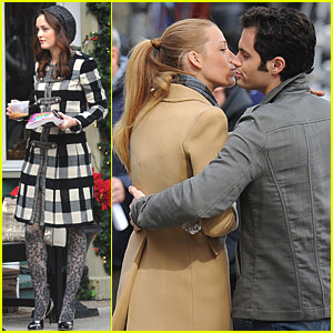 Leighton Meester: 'Gossip Girl' Goes Upstate with Kevin Zegers!