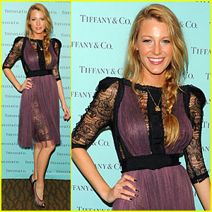 Blake Lively: Tiffany & Co. Eyewear Launch!