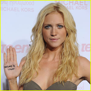 Brittany Snow: Love Is Louder!