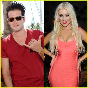 Christina Aguilera & Matt White: Waikiki Edition Opening!