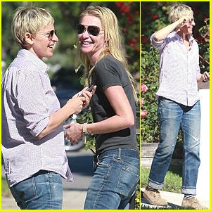 Ellen DeGeneres & Portia de Rossi: Los Feliz Lovebirds
