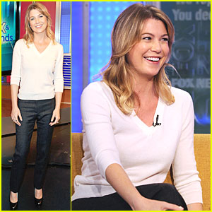 Ellen Pompeo Visits 'Fox & Friends'