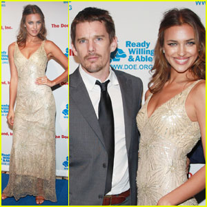 Ethan Hawke & Irina Shayk: Doe Fund Duo