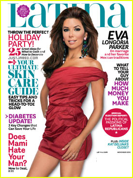 Eva Longoria Covers 'Latina' November 2010