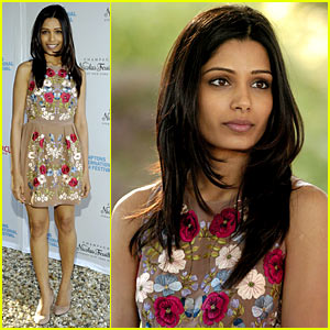 Freida Pinto: Hamptons Chairmen's Reception!