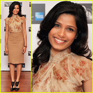 Freida Pinto: 26th Birthday Celebration in London!