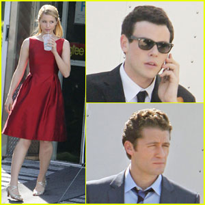 Cory Monteith & Dianna Agron: Glee Goes Glam!