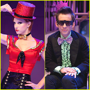 GLEE: 'Rocky Horror' Episode Pics!