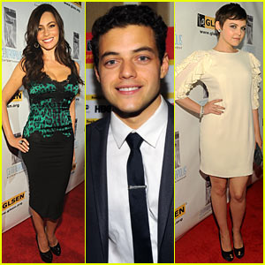 Sofia Vergara: GLSEN Respect Awards with Ginnifer Goodwin & Rami Malek!