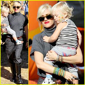 Gwen Stefani: Pumpkin Patch Playtime with Zuma & Kingston!