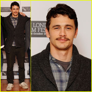 James Franco Spends '127 Hours' in London
