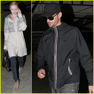 Kate Bosworth & Alexander Skarsgard: Movie Mates!