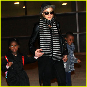 Madonna & Kids: JFK Jetsetters