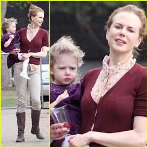 Nicole Kidman: Rose-y Day Care