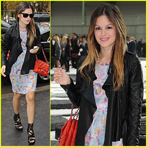 Rachel Bilson: Chanel at Paris Fashion Week!