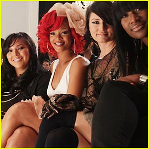 Rihanna Interview -- JustJared.com Exclusive