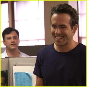 Ryan Reynolds Fires Jimmy Kimmel's Staff Member