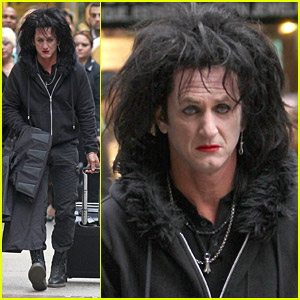 Sean Penn Is A Retired Rockstar