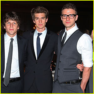 Justin Timberlake: 'The Social Network' Opens Today!