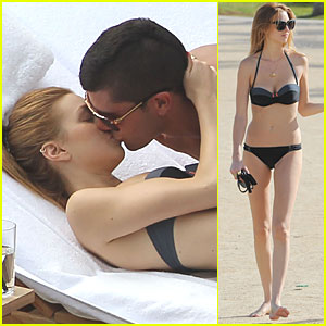 Whitney Port & Ben Nemtin: Poolside PDA in Hawaii!