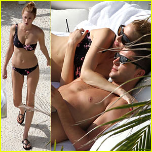 Whitney Port: Single Shoulder Bikini!