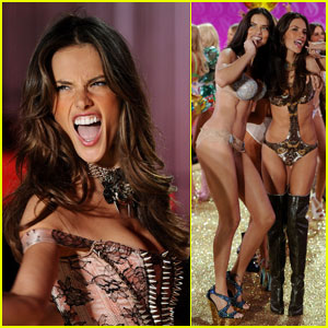 Alessandra Ambrosio & Adriana Lima: Sexy Little Things
