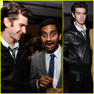 Andrew Garfield Is an 'Outsider' with Aziz Ansari