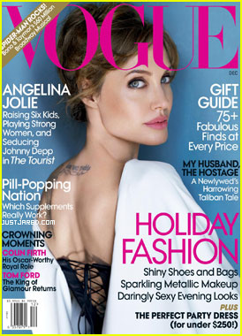 Angelina Jolie Covers 'Vogue' December 2010