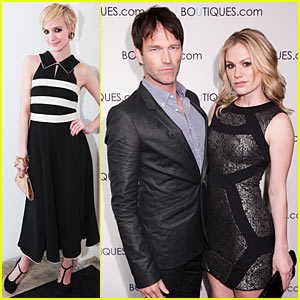 Anna Paquin & Stephen Moyer: Boutiques Believers