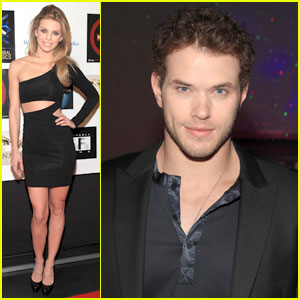 Kellan Lutz & AnnaLynne McCord: AFM Party People