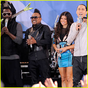 Black Eyed Peas: Super Bowl Half Time Show Performers!