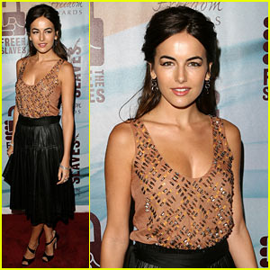 Camilla Belle Celebrates the Freedom Fighters