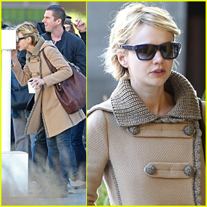 Carey Mulligan Hangs Out With A Mystery Male