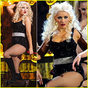 christina aguilera amas performance video 2010 Nude Celebrities   Brawl Hall.com