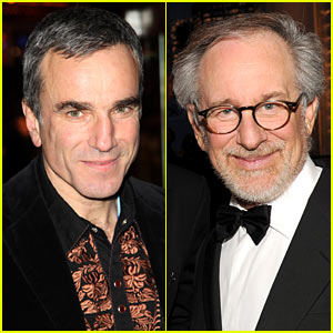 Daniel Day-Lewis: 'Lincoln' with Steven Spielberg!