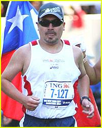 Chilean Miner Edison Pena Finishes NYC Marathon
