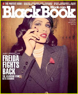 Freida Pinto: 'BlackBook' Cover Girl!