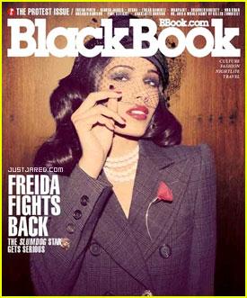 Freida Pinto: 'BlackBook' Cover Girl!
