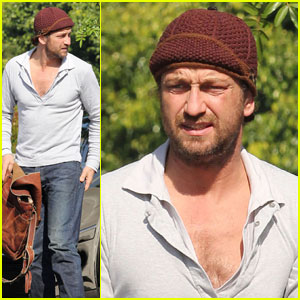 Gerard Butler: Business in Beverly Hills