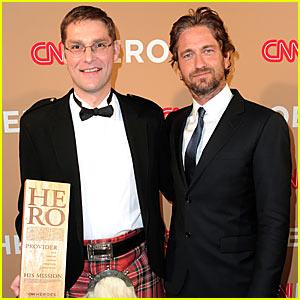 Gerard Butler: CNN Heroes Presenter!