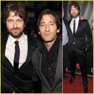 Gerard Butler & Adrien Brody: 'Let's Build A School For Haiti!'
