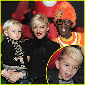 Gwen Stefani: Yo Gabba Gabba! with Kingston & Zuma!