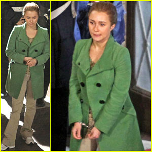 Hayden Panettiere: Handcuffed for 'Amanda Knox Story'