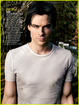 Ian Somerhalder: 'Sexiest Man Alive' Feature!